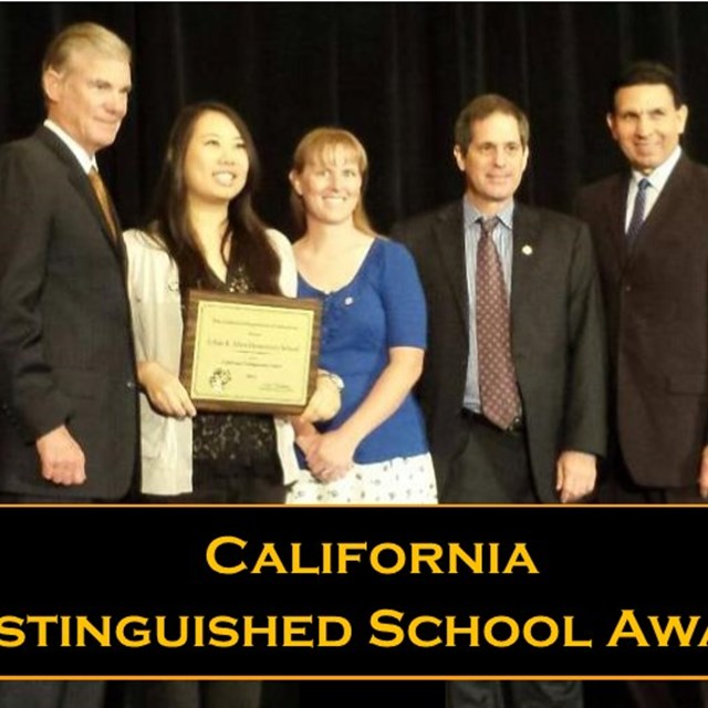 Once again, we were named a California Distinguished School!
