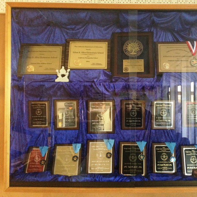 Just some of our many awards, thanks to our amazing students and teachers!
